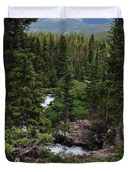 Hiking In Colorado Duvet Cover