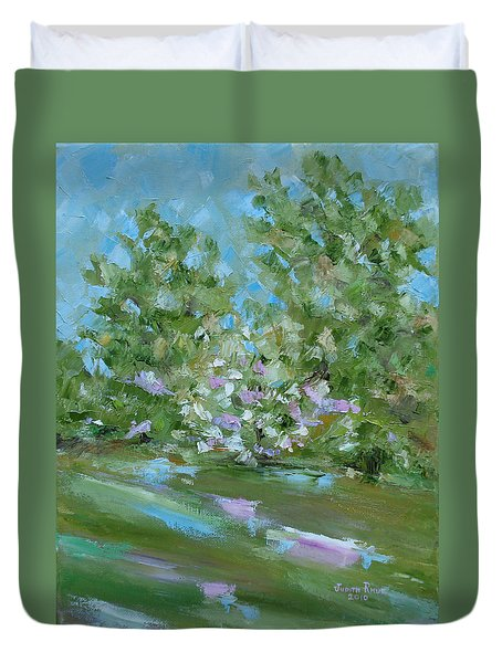 Hilltop Duvet Cover by Judith Rhue