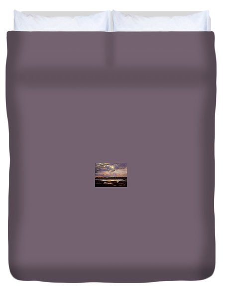 Hilton Head Sunset Duvet Cover