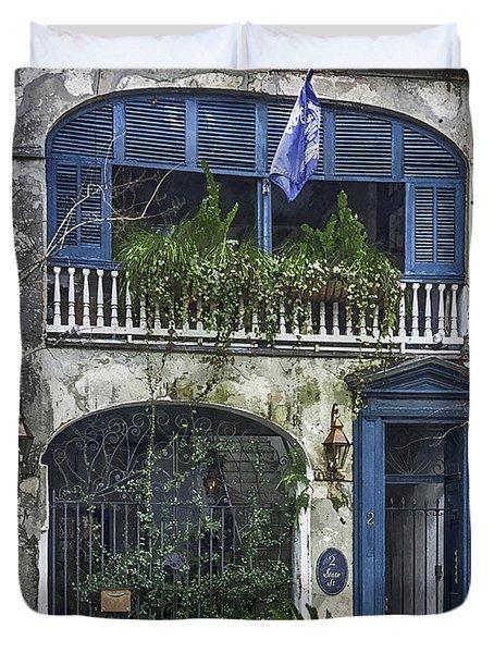 Historic Charleston Home Duvet Cover by Lynn Palmer