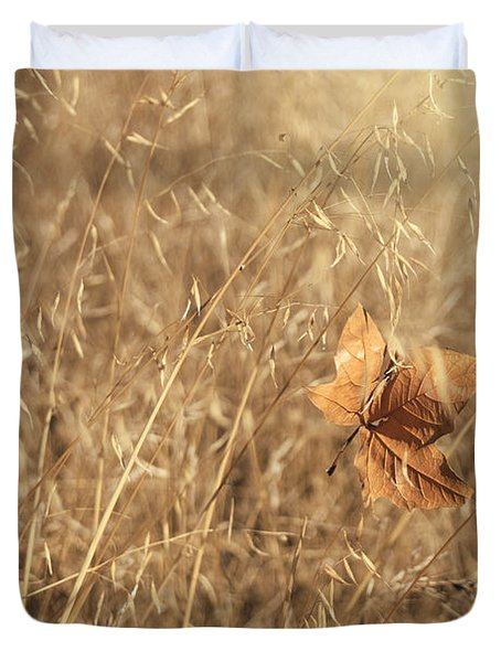 Hold Me Tenderly Duvet Cover by Laurie Search