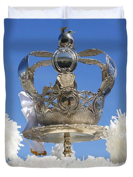 Holy Spirit Crown Duvet Cover by Gaspar Avila