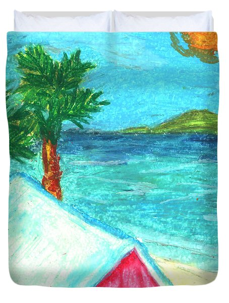 Home By Shore Duvet Cover by William Depaula