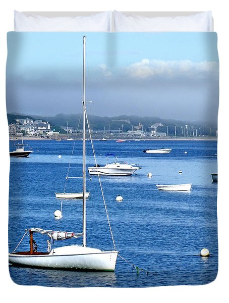 Homeward Bound Duvet Cover by Marilyn Holkham