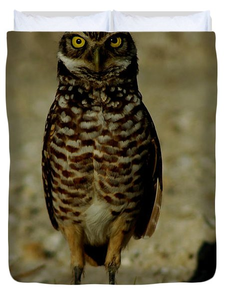 Hoo Are You? Duvet Cover