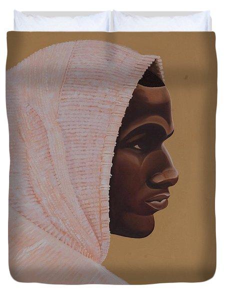 Hood Boy Duvet Cover by Kaaria Mucherera