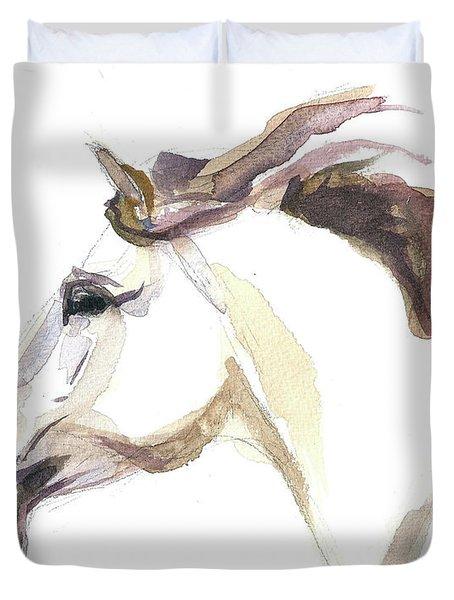 Horse - Julia Duvet Cover