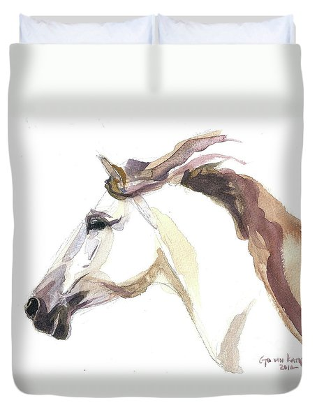 Horse - Julia Duvet Cover