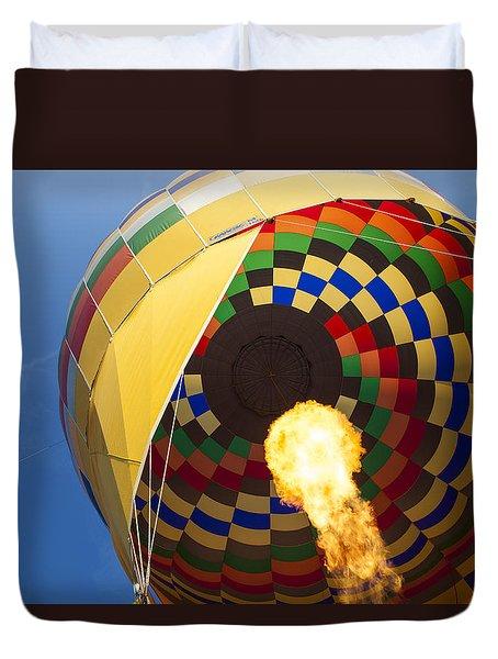 Hot Air Duvet Cover by Rick Berk