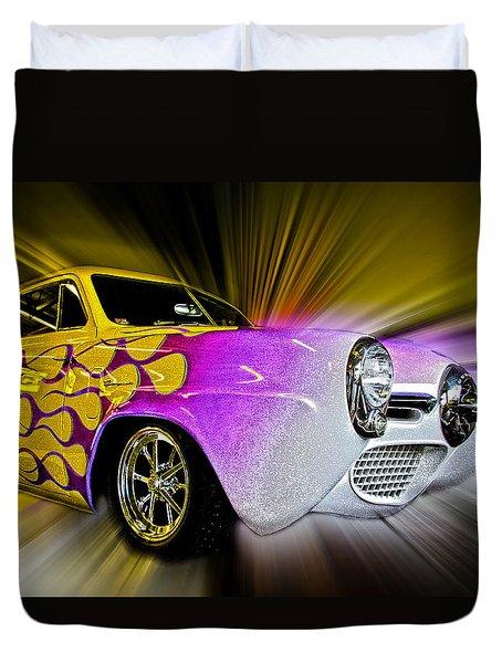Hot Rod Art Duvet Cover by Steve McKinzie