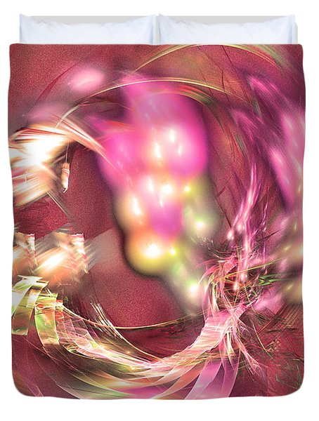 Hot Season - Abstract Art Duvet Cover
