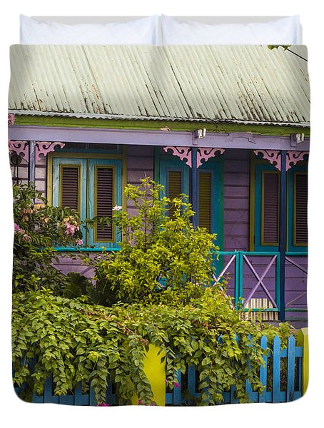 House Of Colors Duvet Cover by Rene Triay Photography