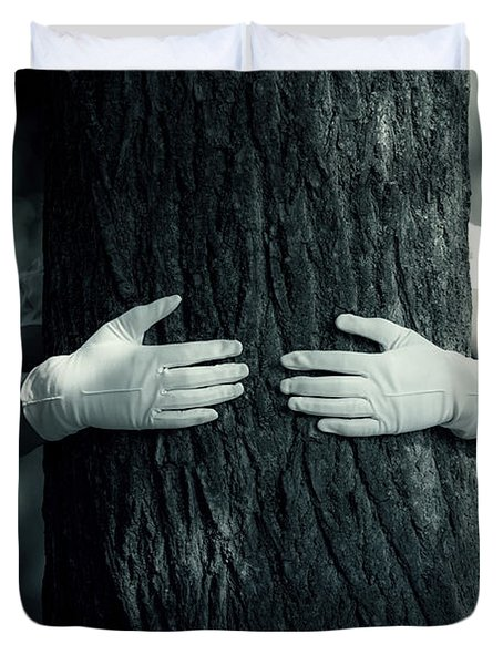 hug Duvet Cover by Joana Kruse