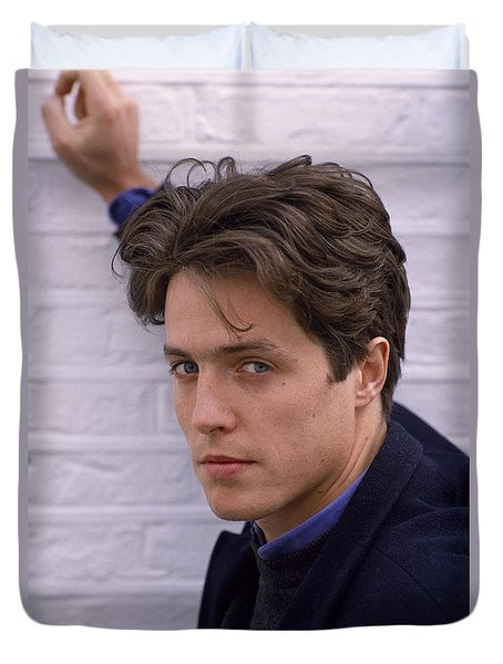 Hugh Grant Duvet Cover