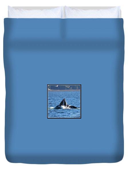Humpback Whale Duvet Cover by Pamela Walrath