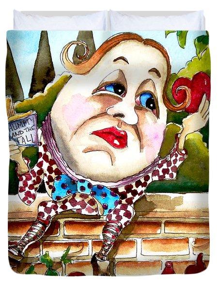 Humpty Dumpty Duvet Cover by Lucia Stewart