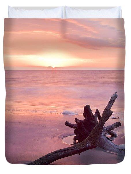 Hunting Island South Carolina Duvet Cover