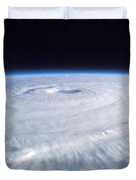 Hurricane Isabel Duvet Cover