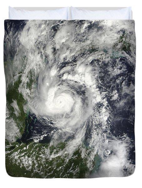 Hurricane Paula Duvet Cover