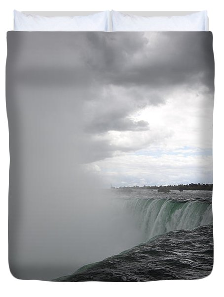 Hydro Duvet Cover by Amanda Barcon