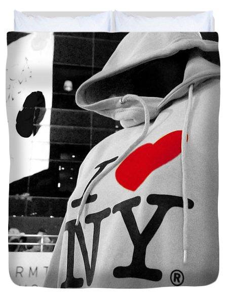 I Love New Yoik  Duvet Cover
