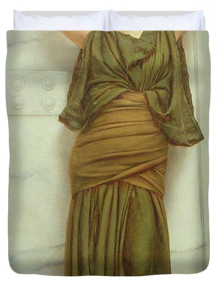 Ianthe Duvet Cover by John William Godward