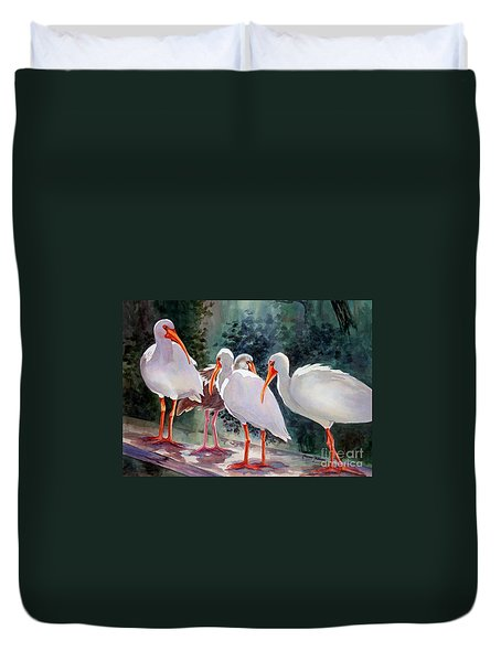 Ibis - Youngster Among Us. Duvet Cover