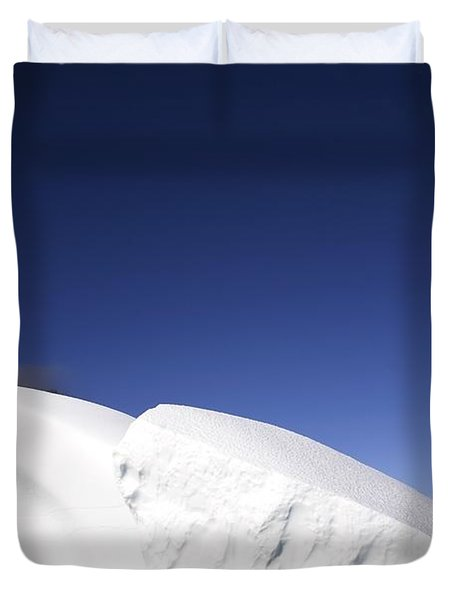 Iceberg In Canadian Arctic Duvet Cover by Richard Wear