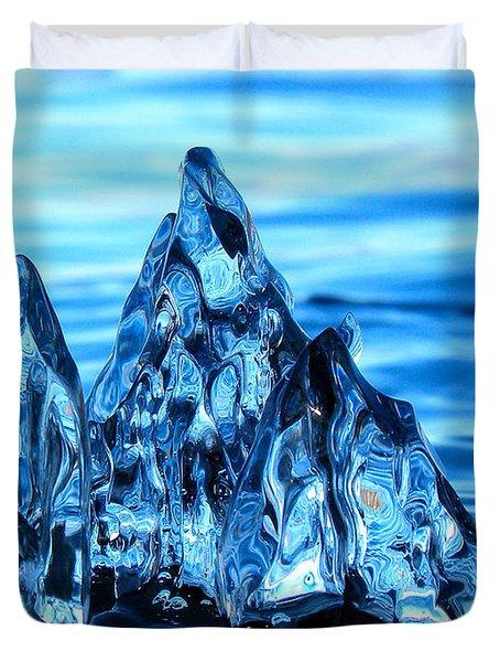 Iceberg River Duvet Cover