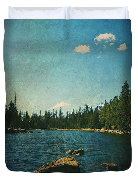 If It Could Be Just You And Me Duvet Cover by Laurie Search