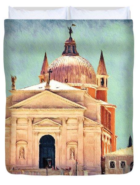 Il Redentore Duvet Cover by Jeffrey Kolker