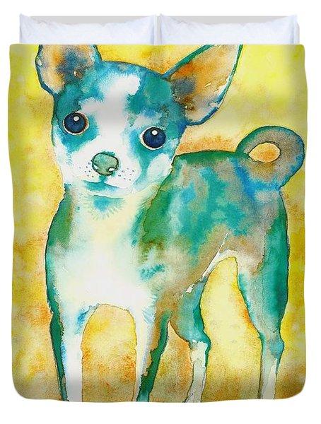 Ilio Chihuahua Duvet Cover