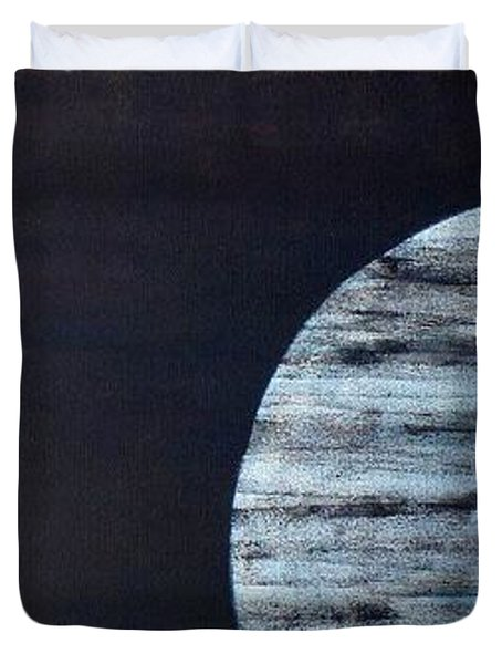 Duvet Cover featuring the painting Illumination by Barbara Moignard