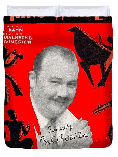 I'm Thru Withlove Duvet Cover by Mel Thompson