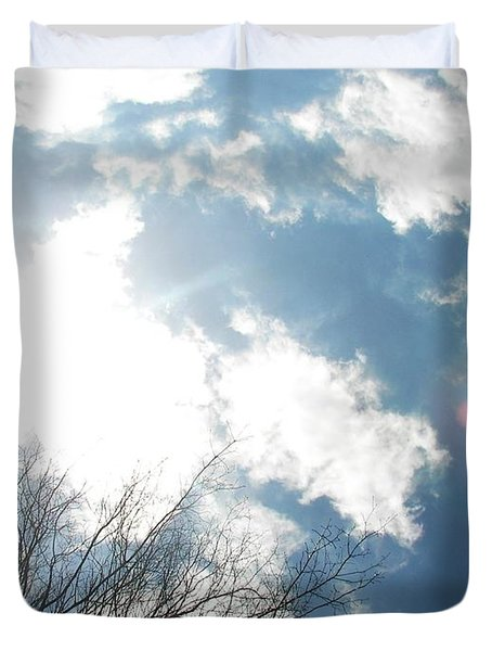 Duvet Cover featuring the photograph Imagination by Pamela Hyde Wilson