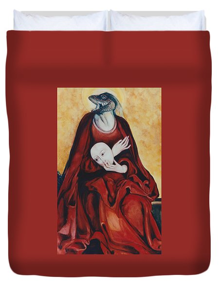 Imitation Of Art Duvet Cover