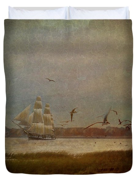 In Another Lifetime Duvet Cover by Lianne Schneider
