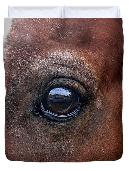 In His Sight Duvet Cover by EricaMaxine  Price