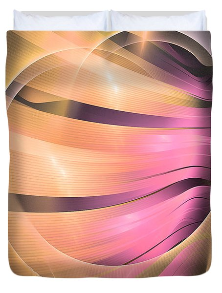 In Medias Res -abstract Art Duvet Cover