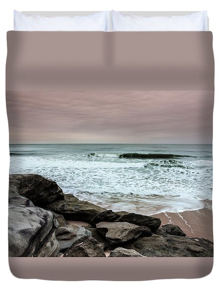 Duvet Cover featuring the photograph In Peace by Edgar Laureano