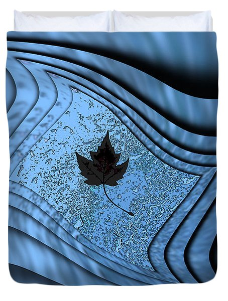 In The Eye Of The Storm 2 Duvet Cover by Tim Allen