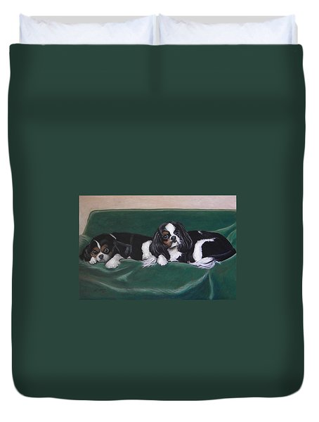 In The Lap Of Luxury Duvet Cover by Jeanette Jarmon