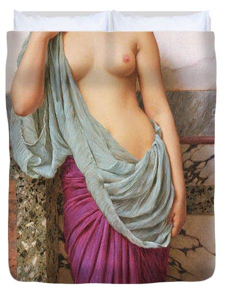 In The Tepidarium Duvet Cover