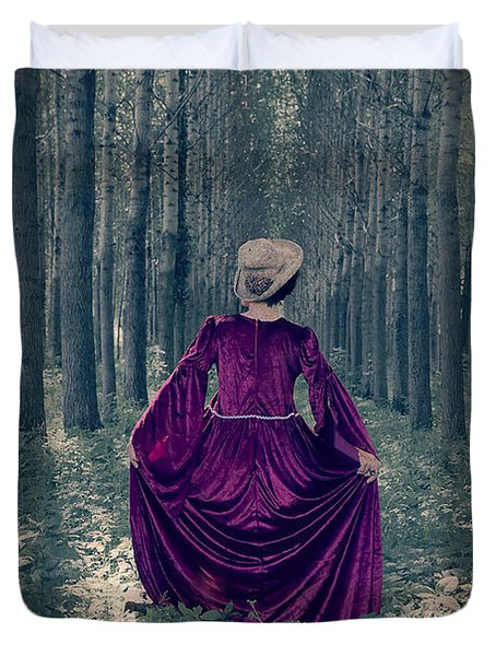 In The Woods Duvet Cover by Joana Kruse
