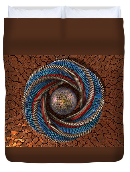 Inclusion Duvet Cover by Manny Lorenzo