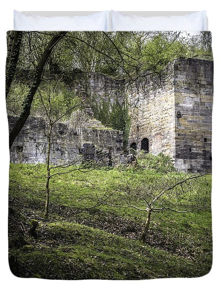 Industrial Ruin Duvet Cover by Amanda Elwell