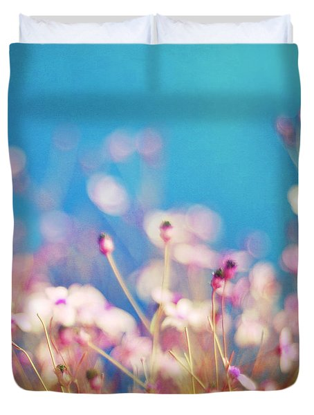 Infatuation In Blue II Duvet Cover by Amy Tyler