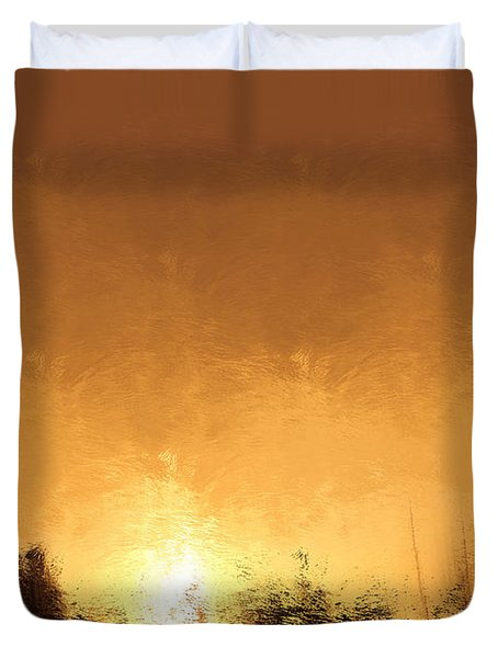 Insomnia 1 Duvet Cover by Terence Morrissey