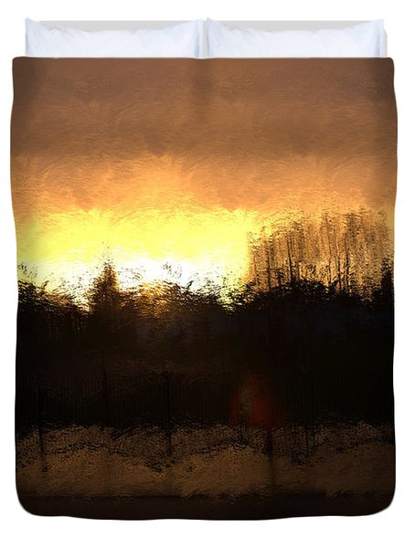 Insomnia II Duvet Cover by Terence Morrissey