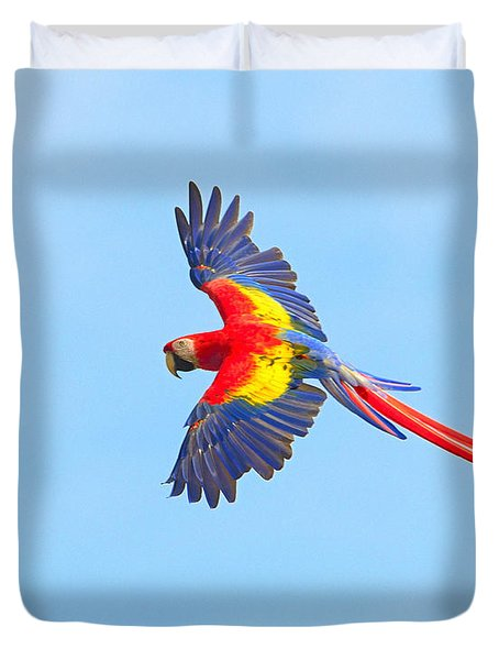 Into The Blue Duvet Cover by Tony Beck